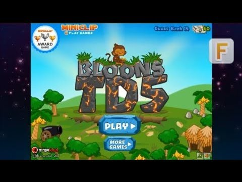 Flashok.ru: Bloons Tower Defense 5 bloons td 5