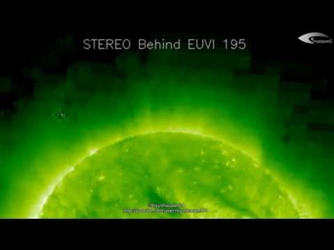 UFO near the Sun - Review of Activity for February 23, 2012. (HQ)