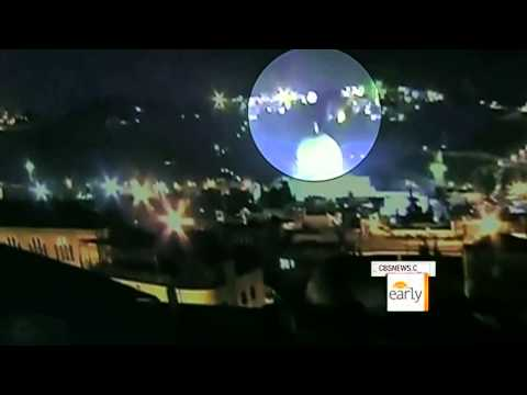 UFO in Jerusalem - shooting with three cameras.. 28.01.2011