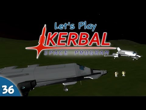 "Kerbal Space Program - #036 - Mountain ""Rescue"" Mission"
